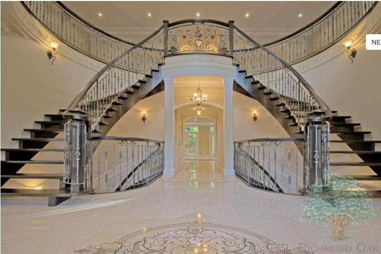 Foyer Staircase Uk : Staircase gallery richmond oak staircases